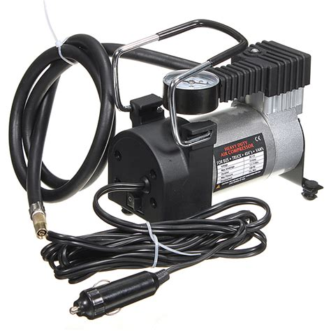 Jual Tire Inflator Heavy Duty Prohex Limited heavy duty portable 12v 100psi car tyre auto tire inflator air compressor ebay