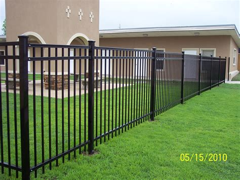 wrought iron fence farrow fence