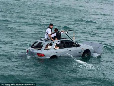 crazy rc boats crazy auckland boat race sees a floating suburu take to