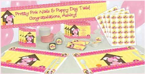 cartoon themes for baby shower babyshowerstuff com introduces new puppy dog baby shower