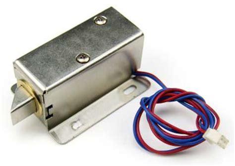 Electric lock for door opener   Open Frame Actuator Door