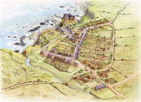 Royal Castle Floor Plan revealing a 17th century town exciting discoveries at