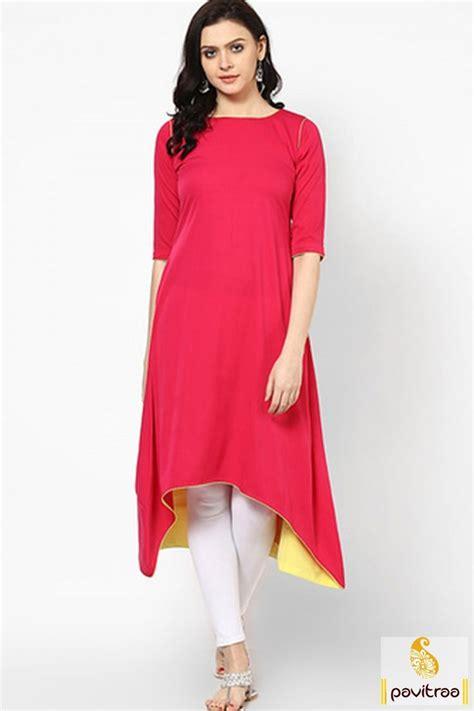 kurtis online shopping india beautiful long kurti designs cotton get beautiful red color fish cut long anarkali kurti in
