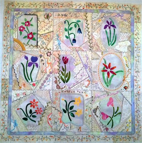 Patchwork Designs And Patterns - patchwork fancy flowers 187 wilhoit designs