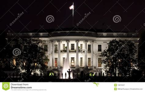 back of the white house back facade of the white house royalty free stock photography image 13870457