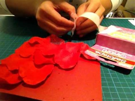 video tutorial how to make love handmade quot love quot card tutorial youtube