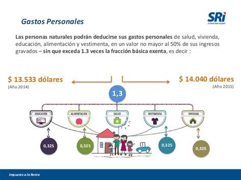 escala impuesto a la renta 2015 persona natural ecuador impuesto a la renta personas naturales 2014