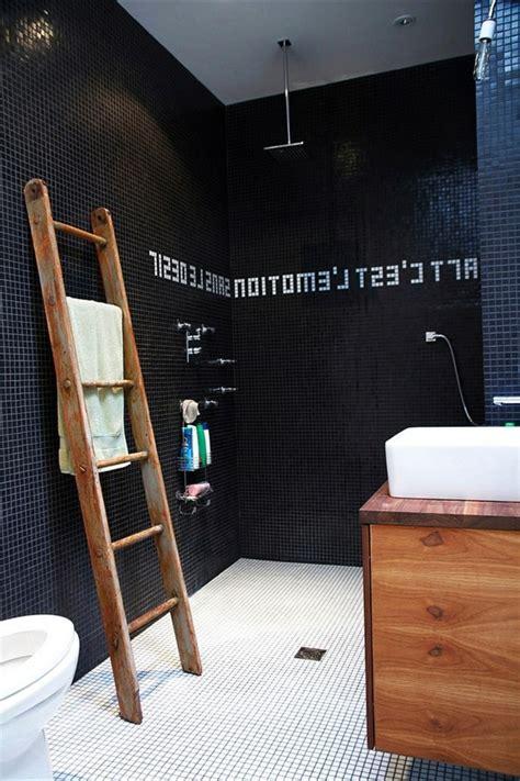 Badezimmer Schwarz