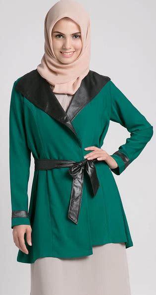 Pakaian Jaket Wanita Bunny Hijau 4 tips memilih baju kerja wanita muslim sesuai postur