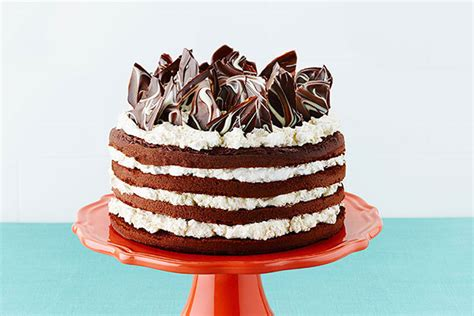 Kitchen Collections by Triple Chocolate Layer Cake Kraft Recipes