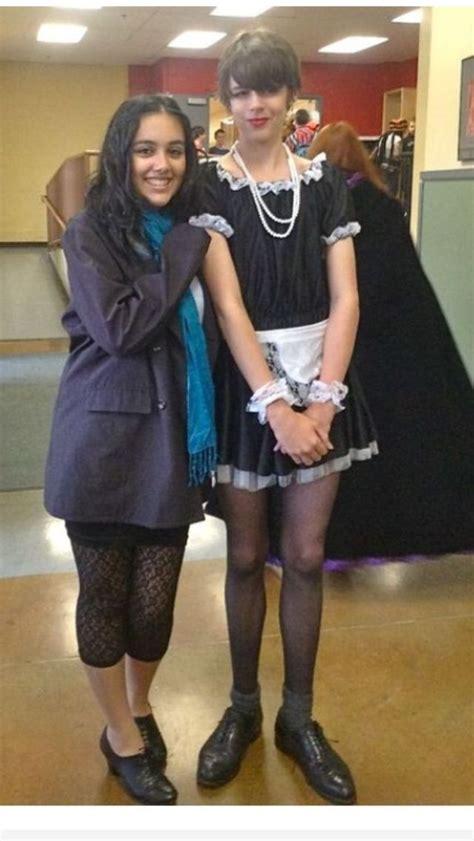 husband crossdressing halloween party 59 best fashion f trans crossdressing refs images on