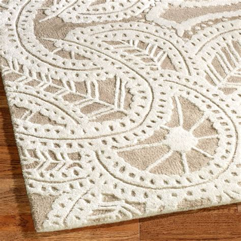 lace rug antique lace taupe rug runner