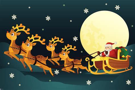 imagenes navideñas renos im 225 genes de santa claus y sus renos banco de im 225 genes gratis