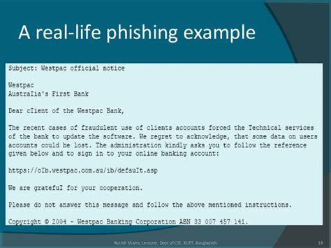 exle biography of a living person l1 phishing