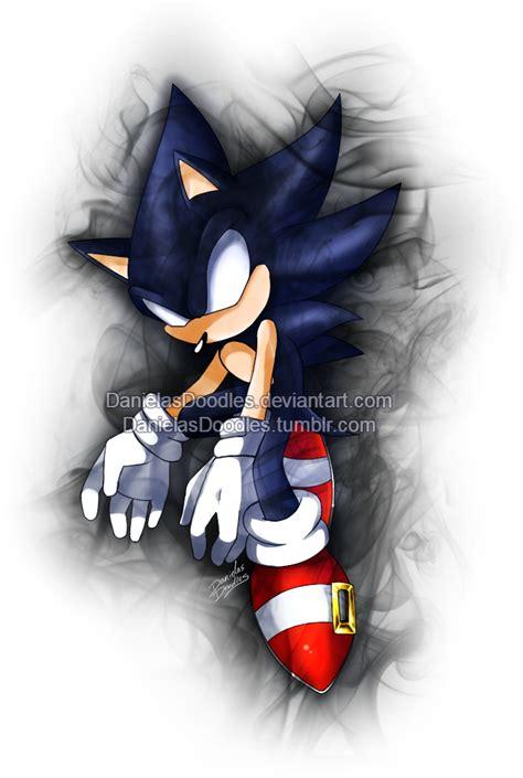 imagenes geniales de sonic dark sonic doodle by danielasdoodles on deviantart