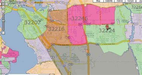 Duval Fl Search Zip Code Map Jacksonville Fl Afputra