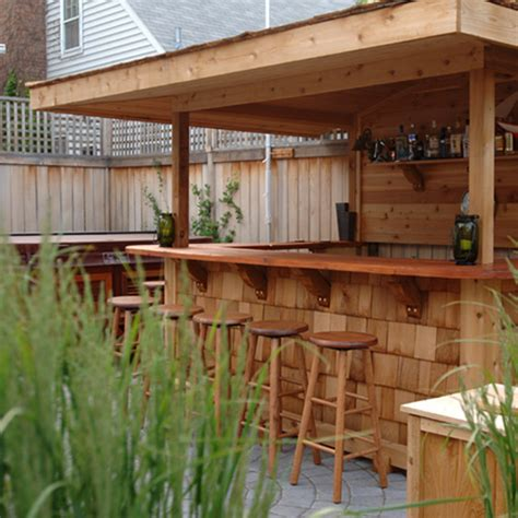 backyard bars designs outdoor bar best gathering place ever decoration channel