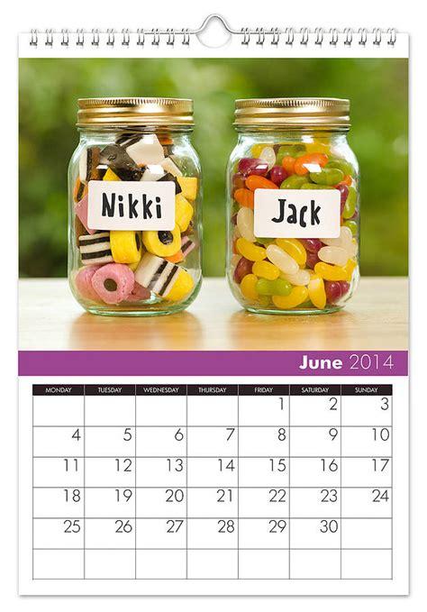 Calendar Personalised Family Personalised Calendar By Thelittleboysroom