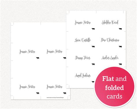 meal place cards template place card templates with meal icons 183 wedding templates