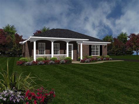 Greenbank Ranch Home Plan 069d 0117 House Plans And More Ranch House Plans With Screened Porch