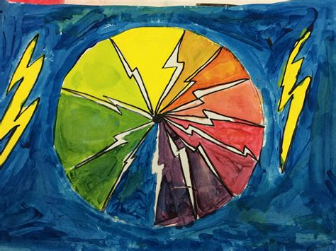 color creative 4th grade creative color wheels with ms bruce