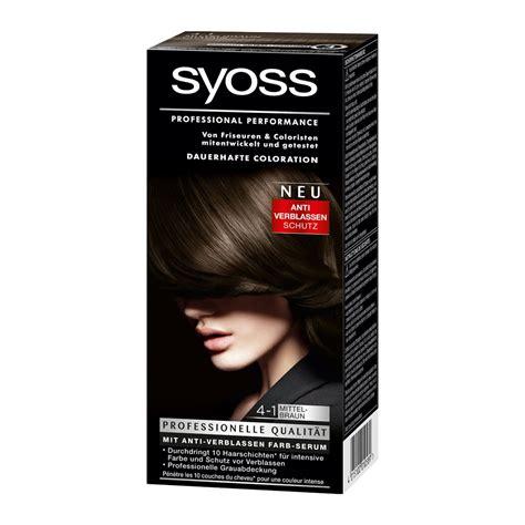 best brunette drug store hair color syoss color classic 4 1 medium brown german drugstore