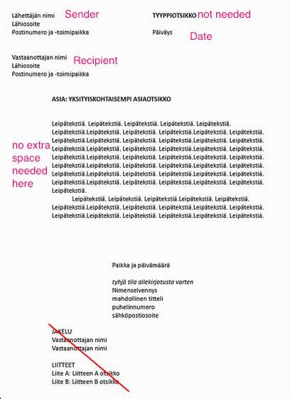 cover letter sender recipient left hand