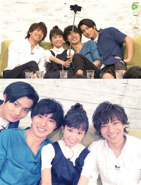 mirei kiritani shohei miura press conference 05 01 16 guy x lady x 2 children shohei