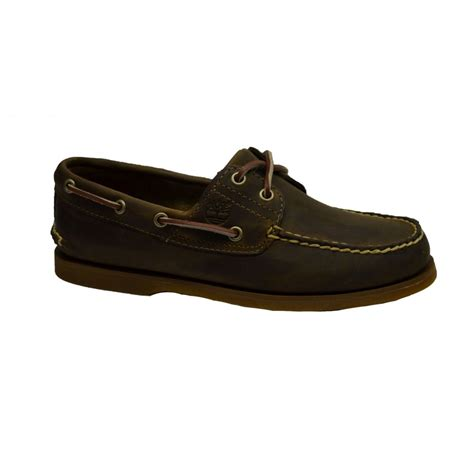 mens timberland boat shoes uk timberland timberland brown 2 eye n26 classic mens boat