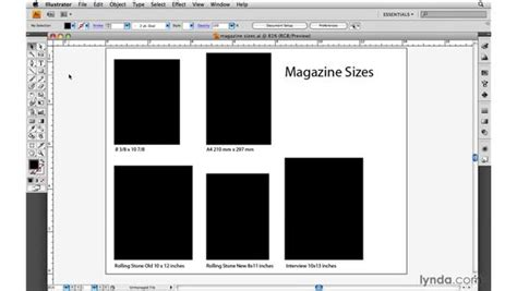 magazine layout measurements magazines standards and design guidelines