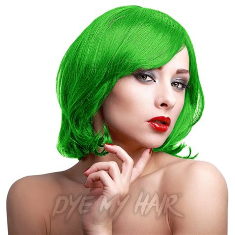 permanent blue hair color stargazer green uv semi permanent hair dye temporary neon