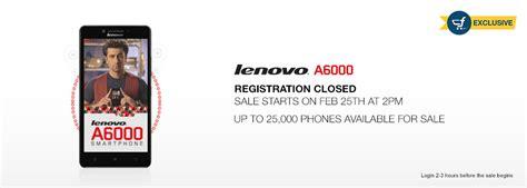 Lenovo A6000 Di Counter tricks to buy lenovo a6000 4g flash sale on 25 feb flashsaletricks