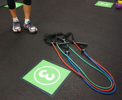 Jump Rope Mats by Workout Station Numbered Mats Tyro Mats Blue