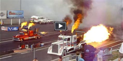 immense power jet engine trucks racing earth shattering performance  car  fun