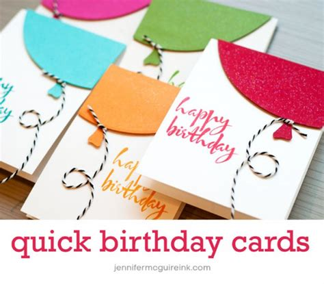 Big Handmade Birthday Cards - balloon cards cool new product big