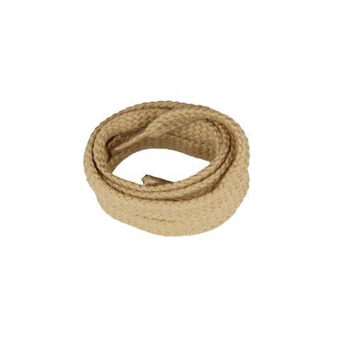flat shoe lace flat beige shoe laces in 100 cotton