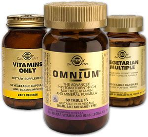 best vitamin brand solgar omnium multivitamin review