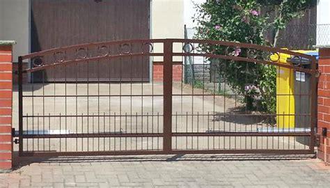 Gartentor Aluminium Pulverbeschichtet