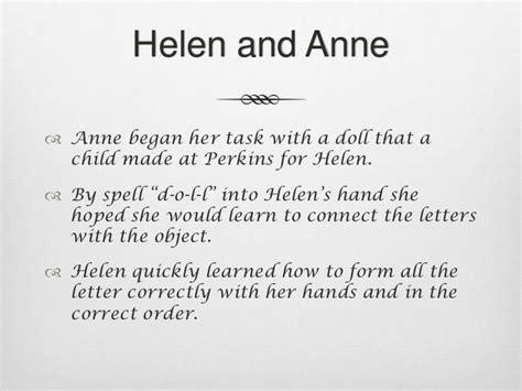 biography of helen keller in summary helen keller presentation
