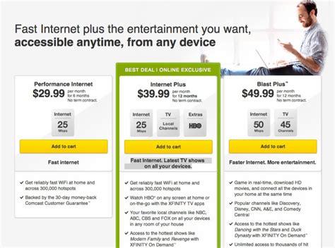 comcast to offer gigabit internet service over docsis modem image gallery comcast packages