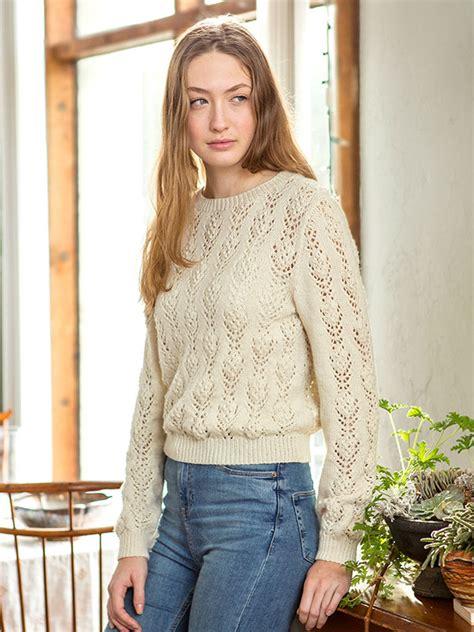 lace jumper knitting pattern sweaters knitting bee 121 free knitting patterns