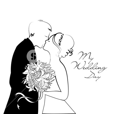 Wedding Images Black And White by Black And White Wedding Background Royalty Free Stock