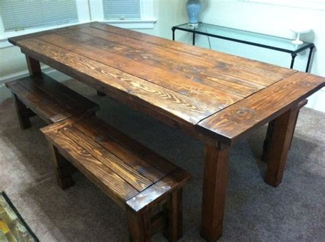 Rustic Dining Table Plans 17 Best Images About Table On Pinterest Rustic Wood Dining Table Farmhouse And Slab Table