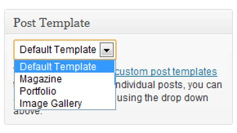 custom post template how to create a custom post template