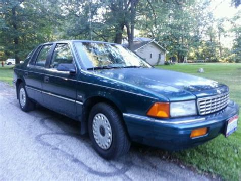 plymouth acclaim cars for sale