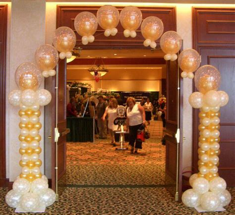 Balloon Arch Decorations by Wedding Balloon Arches Favors Ideas