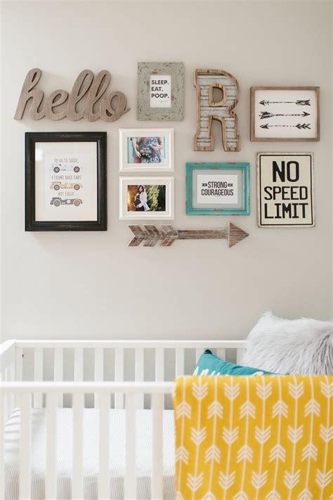 Nursery Wall Decoration 17 Best Ideas About Nursery Wall Collage On Nursery Wall Decor Babies Nursery And