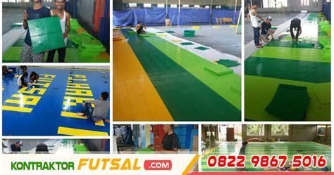 Lapangan Futsal Interlock harga interlock lapangan futsal harga matras futsal per