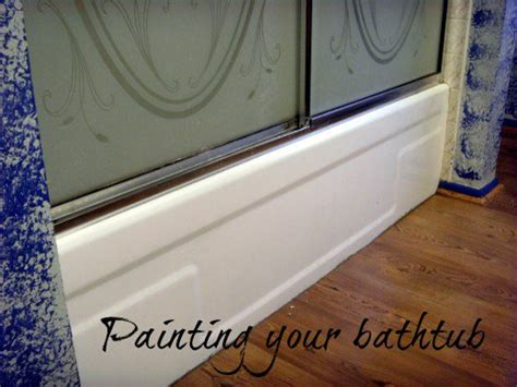 Can You Paint Bathtub by How To Refinish And Paint A Bathtub With Epoxy Paint