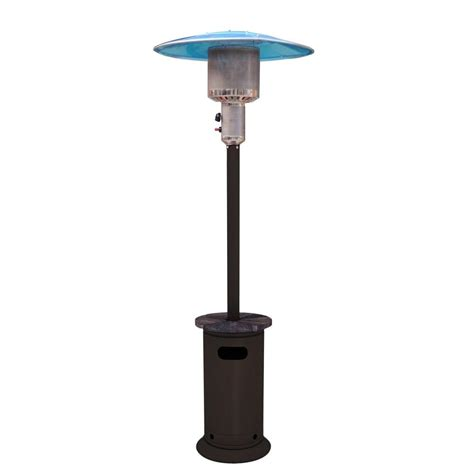 Gas Ceiling Heaters Patio Hton Bay Marston 47 000 Btu Gas Patio Heater 68164 The Home Depot